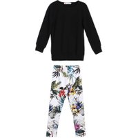 2pcs Girls Clothes Set  New Baby Kids Girls Long Sleeve Tops T-Shirt+Floral Printed Pants Leggings 2pcs Outfits Set For 3-7Y